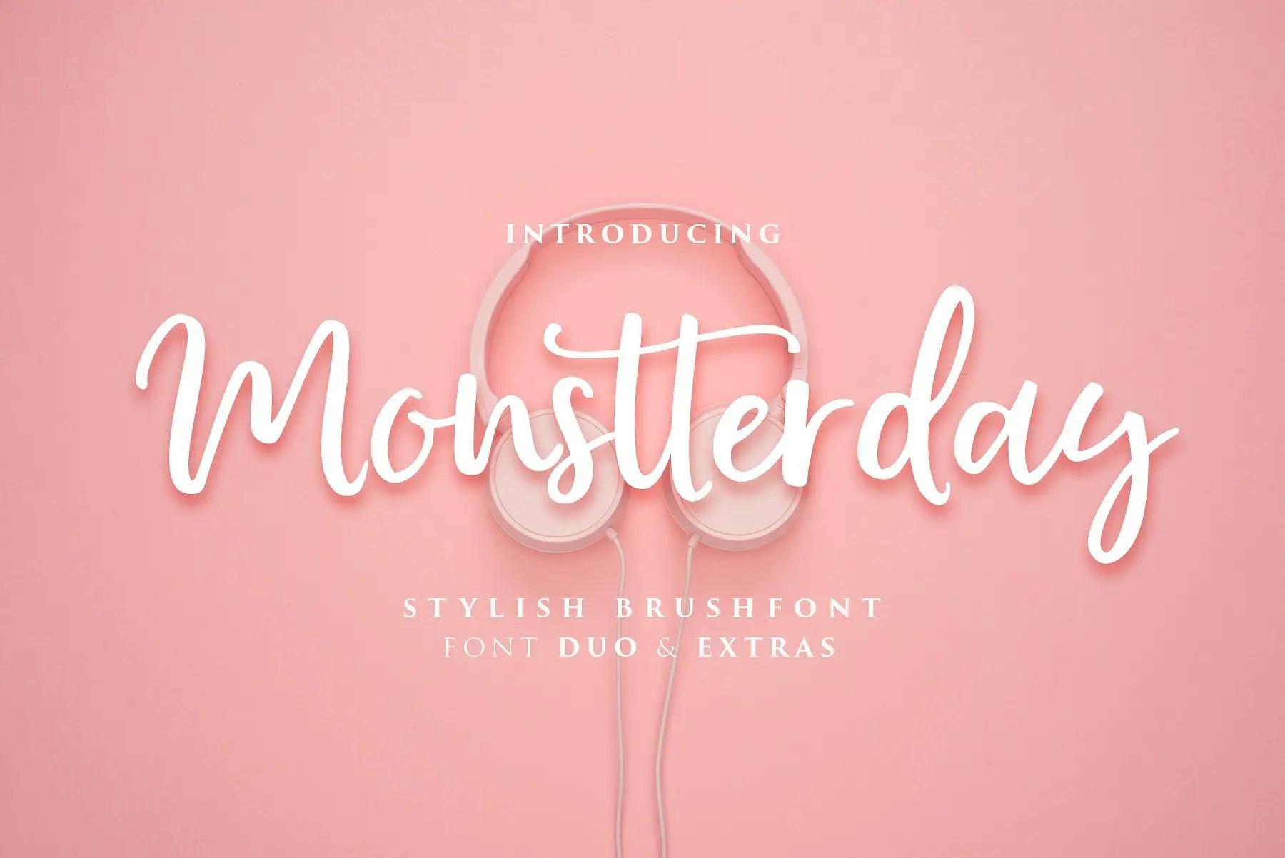 monstterday-script-font
