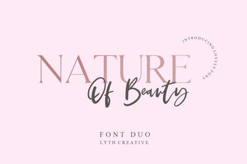 nature-of-beauty-font-duo