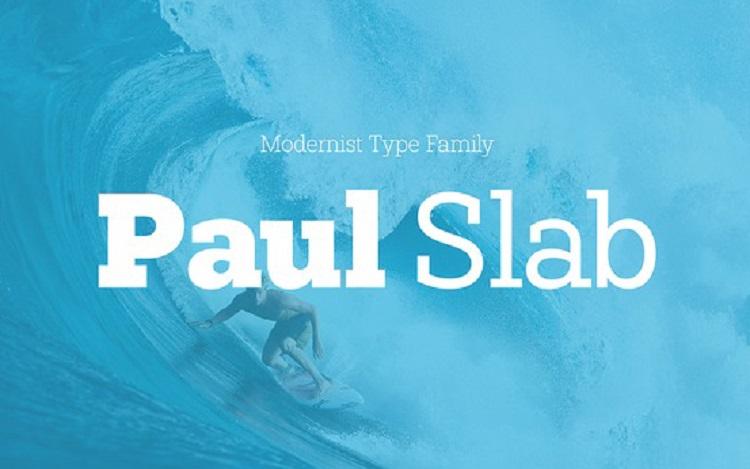 paul-slab-font