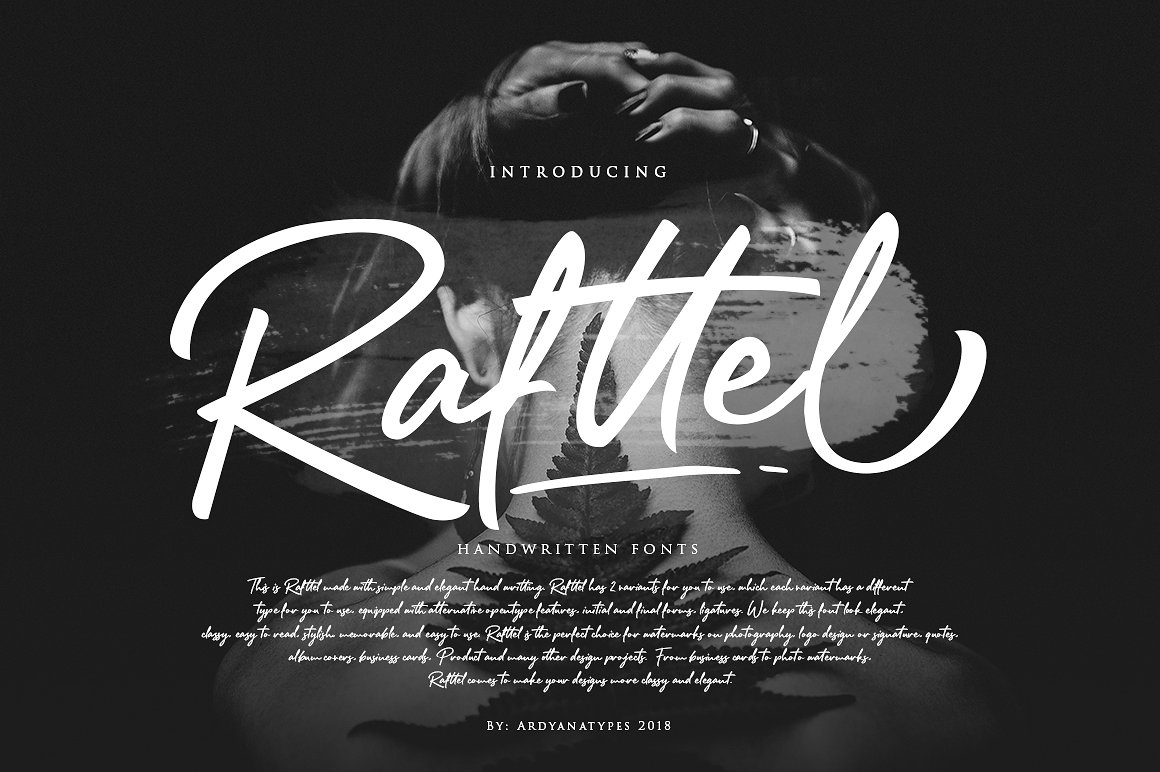 rafttel-script-font