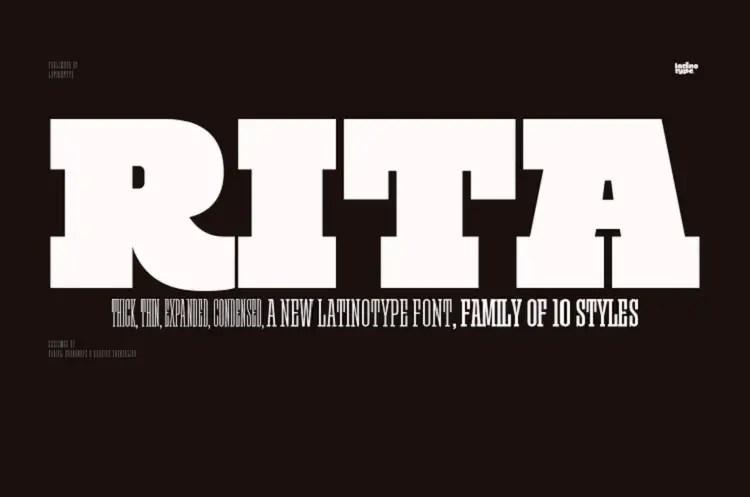 rita-font-family
