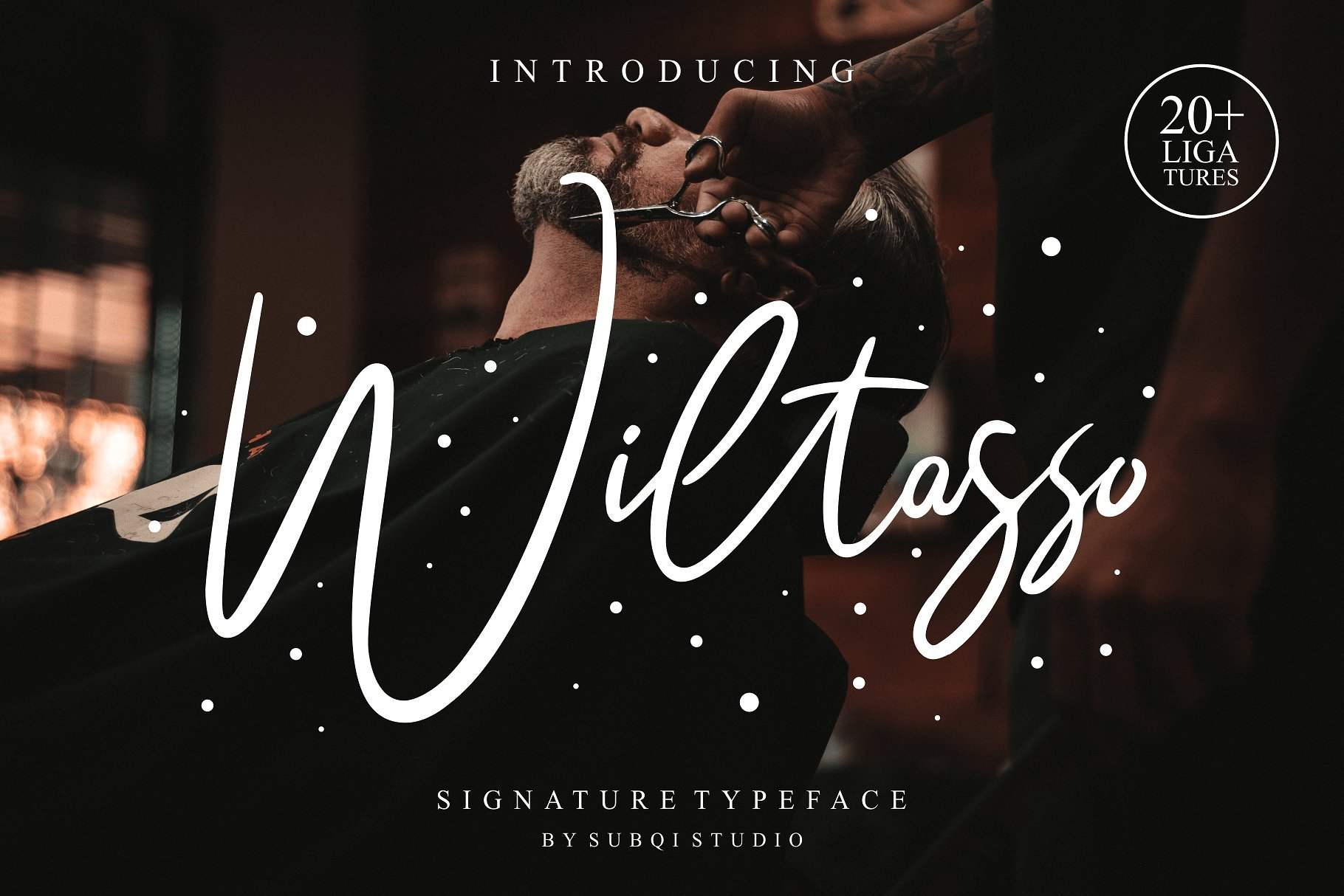 wiltasso-signature-font