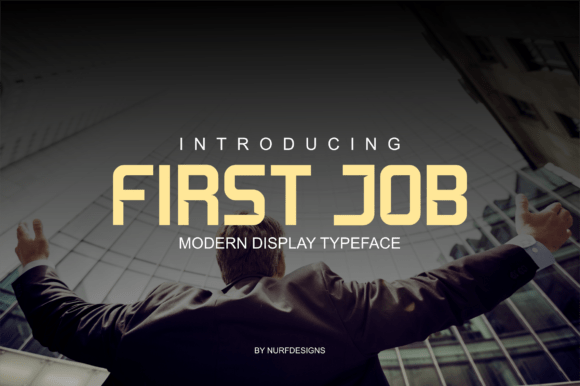 First-Job-Typeface