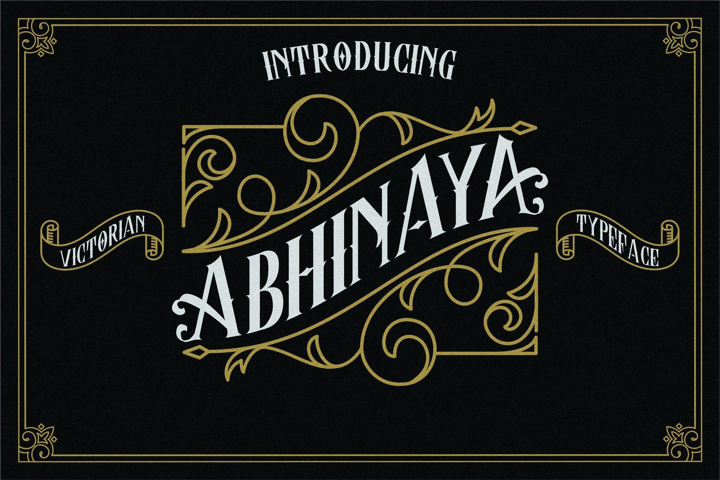 abhinaya-typeface