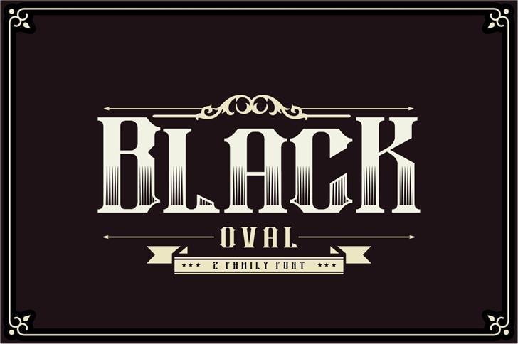 black-oval-typeface-4
