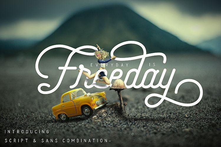 freeday-script-sans-font