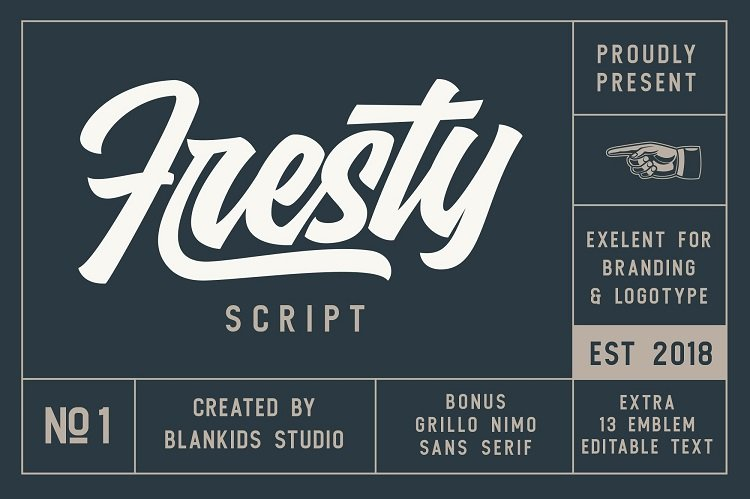 fresty-script-font