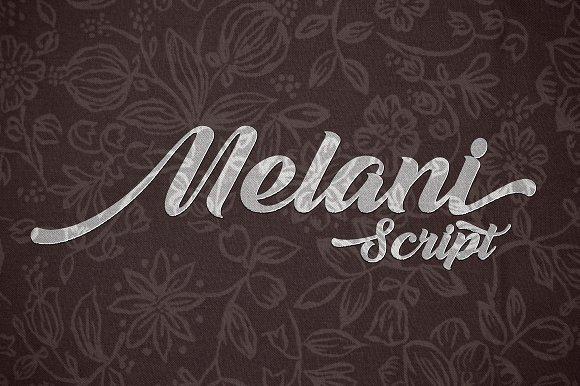 melani-script-font