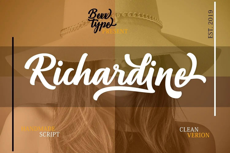 richardine-script-font