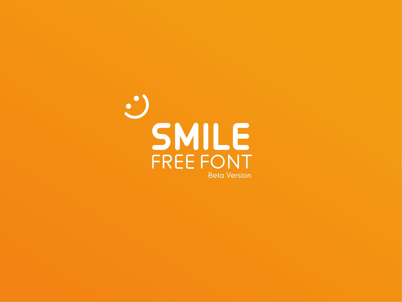 smile-font-family