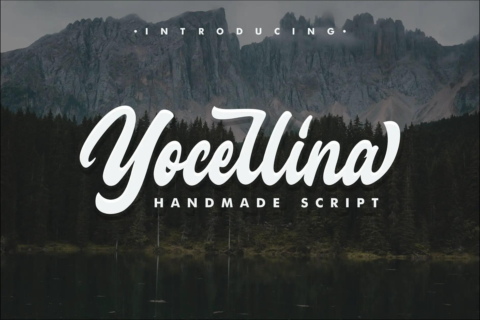 yocellina-script-font