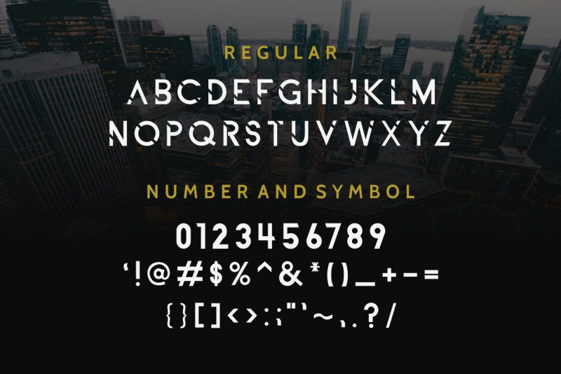 ALDITH Font Duo 1