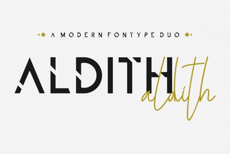 ALDITH Font Duo 2