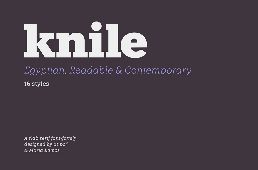 Knile Font Family Free