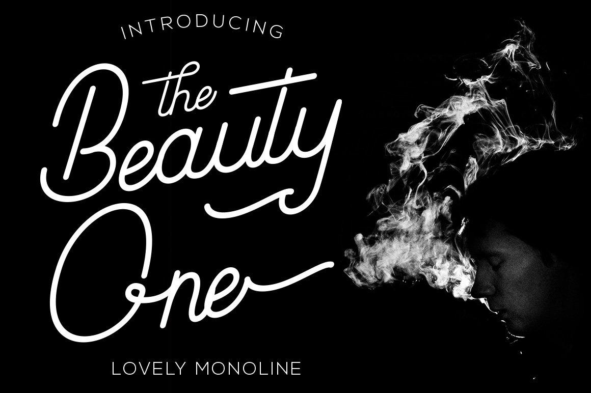 beauty-one-stylish-font
