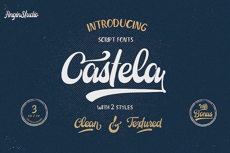 castela-script-demo-font