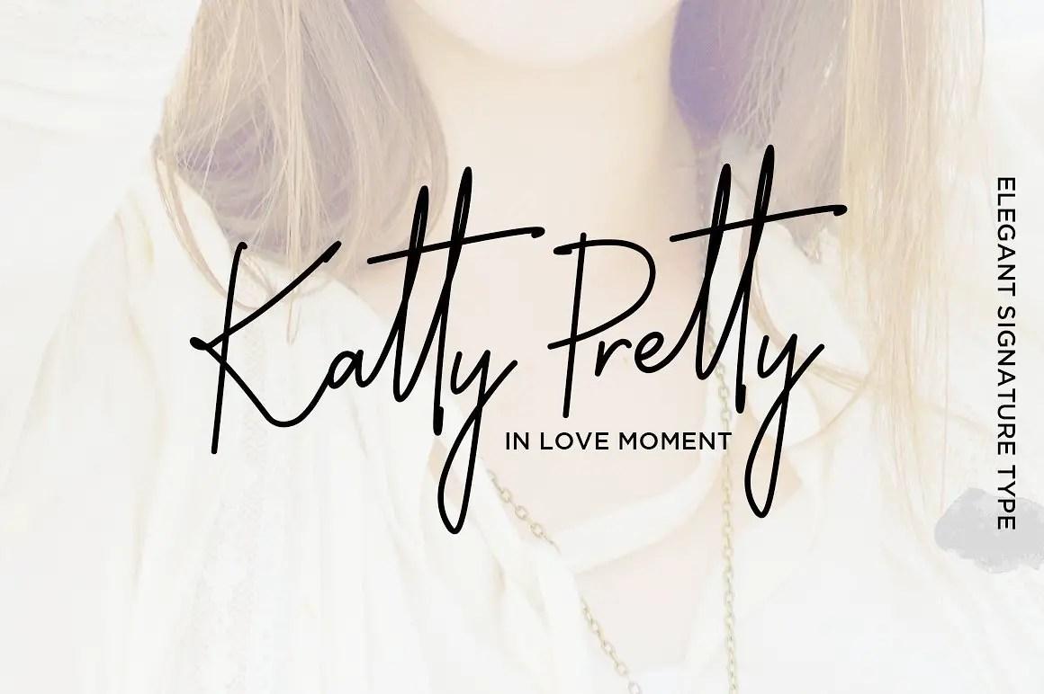 katty-pretty-script-font