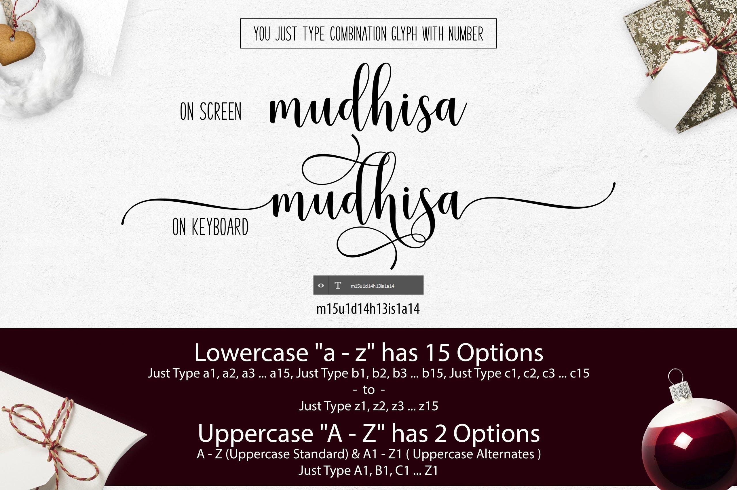 mudhisa-script-font