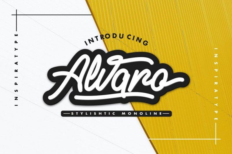 alvaro-stylistic-monoline-font