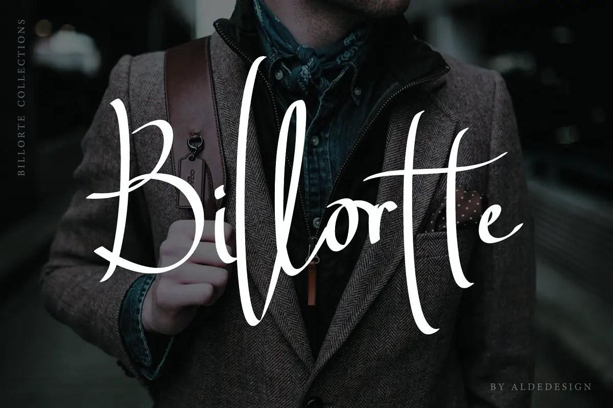 billortte-script-font