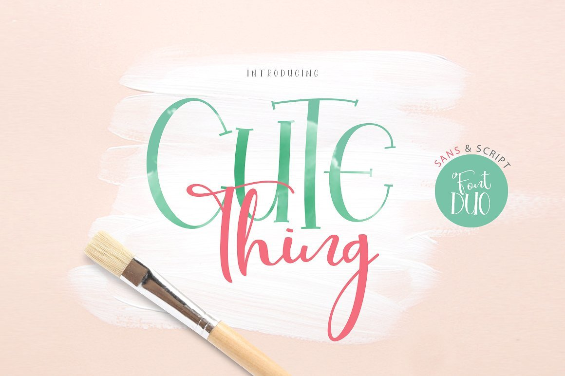 cute-thing-font-duo-123