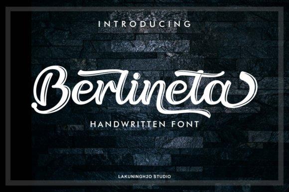 berlineta-script-font