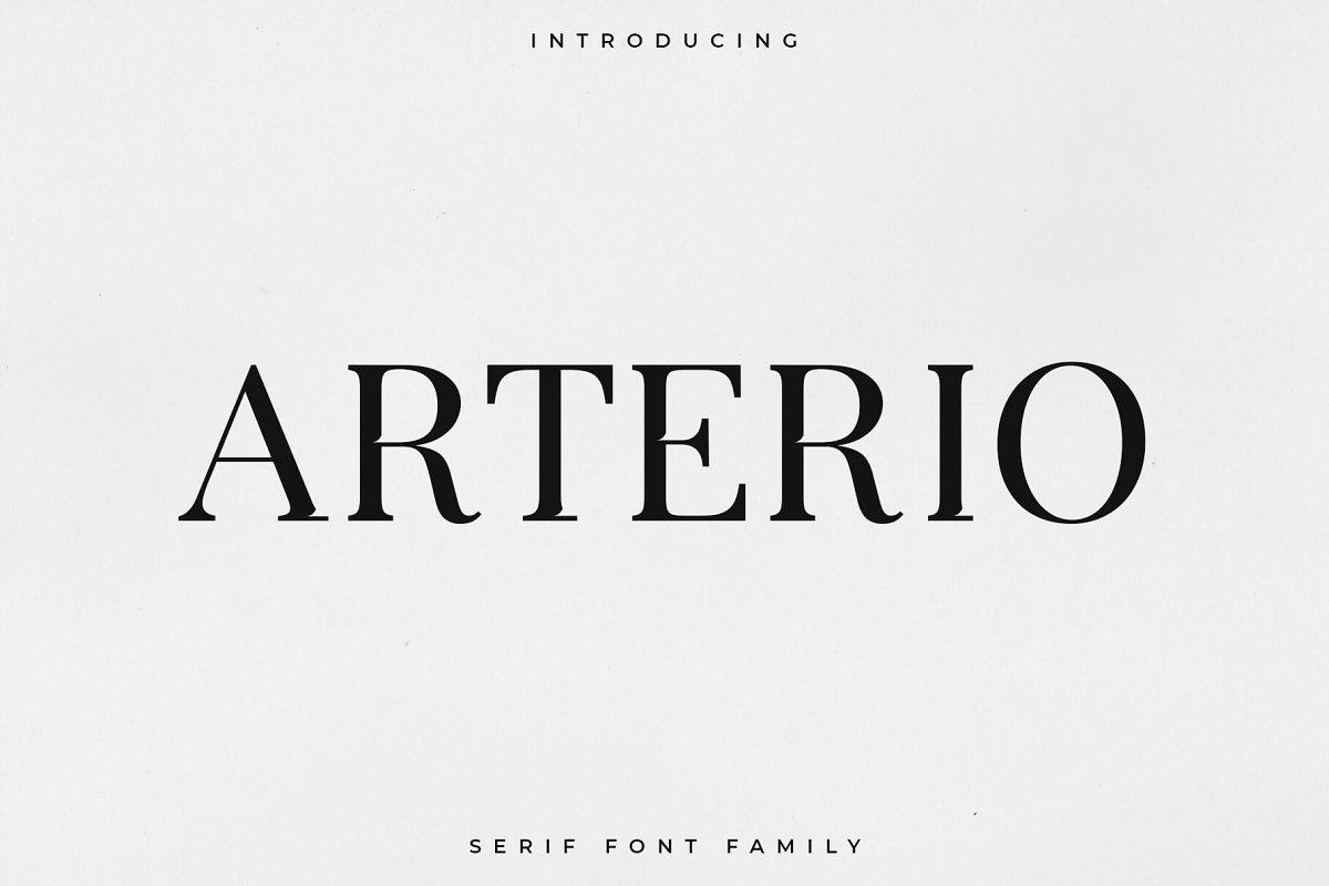 Arterio Font