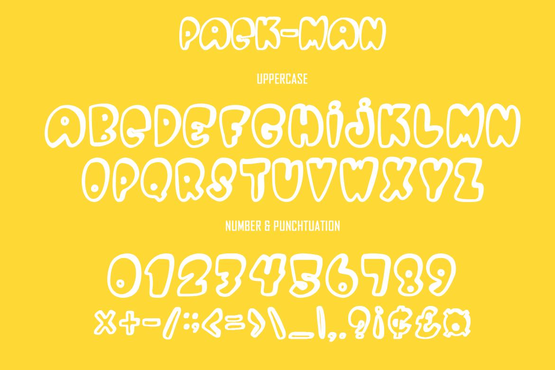 Pac Man Font03