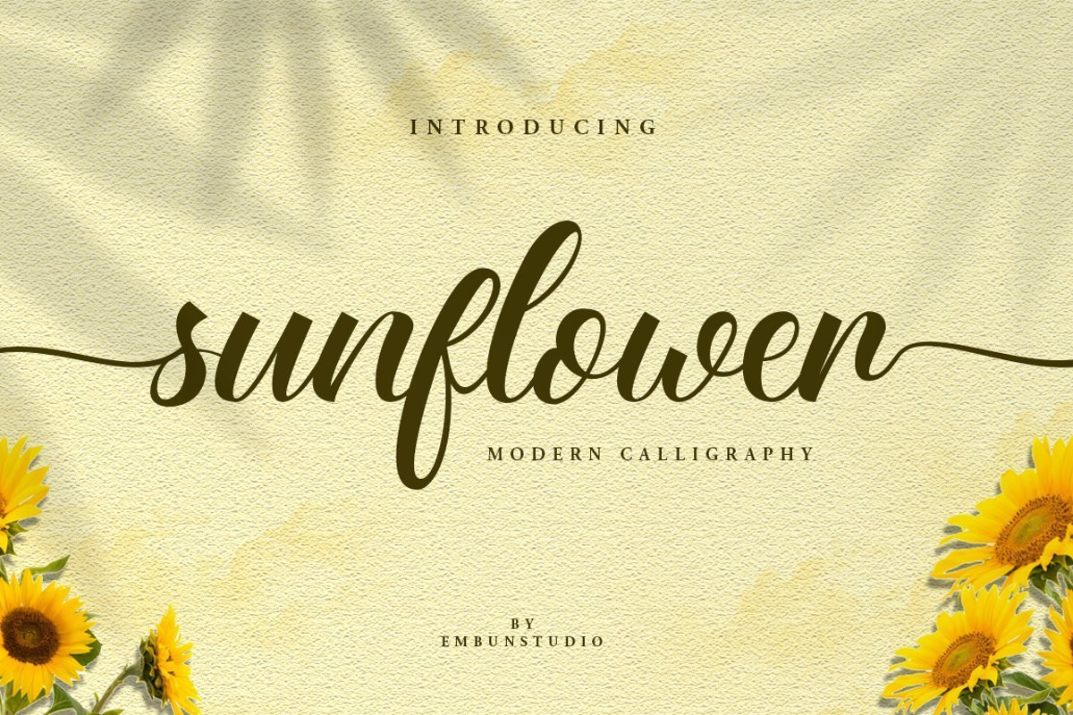 Sunflower-Fields-Calligraphy-Font-1