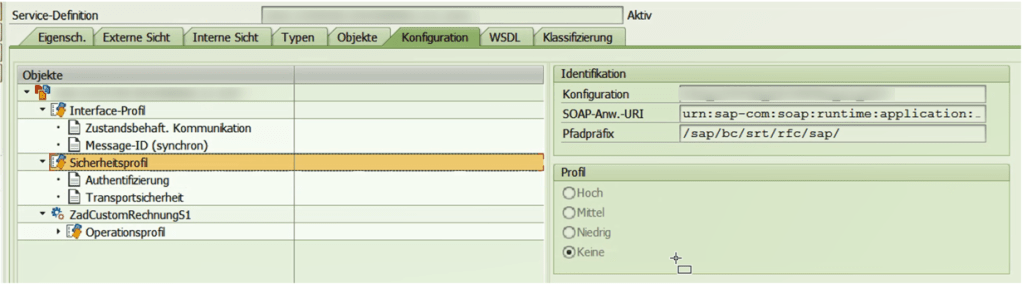 SOAMANAGER Security Settings | SAP Web Services absichern