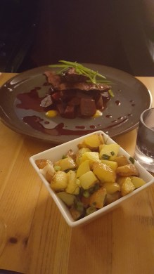 Venison and beetroot
