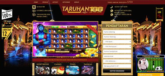 TARUHAN188 Situs Slot Game Online Uang Asli Terbaru