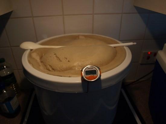 Very full boil pot