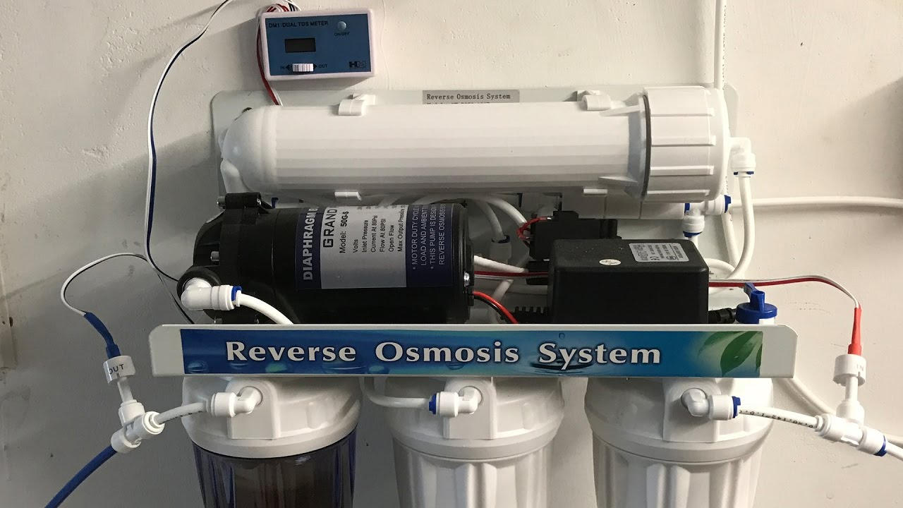 Reverse osmosis filter system for homebrewing – RO water filter
