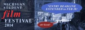 Film Festival 2014 Extended Deadline