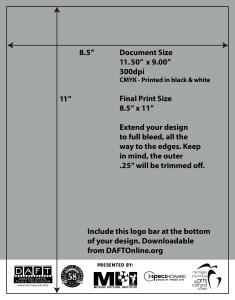 DAFT FF Design Contest Program Cover Template