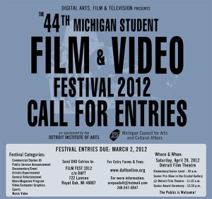 Festival Design Contest 2012 Poster