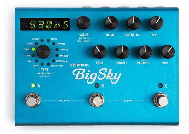 BigSky   Multidimensional Reverberator   Reverb Pedal » strymon