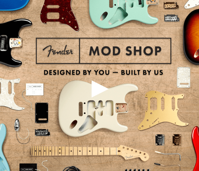 Fender Mod Shop: Exactly What We Wanted... Sort of.