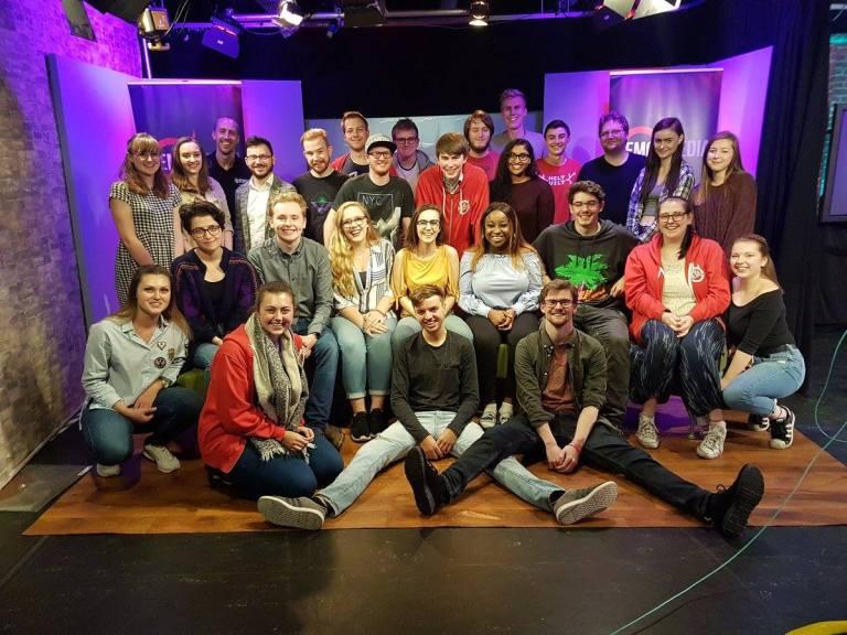 FreshersTV 2017 Crew