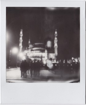 Blue Mosque in all its splendour at night