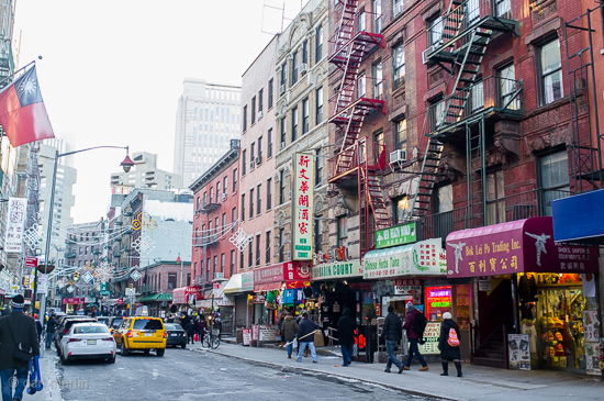 Chinatown and Little Italy