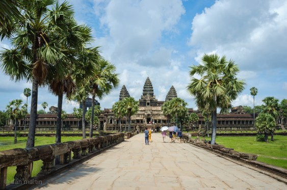 Starting simple, Angkor Wat itself. It covers such a huge area its hard to understand both by photographs and even in reality.