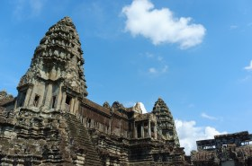 The main central tower to Angkor Wat