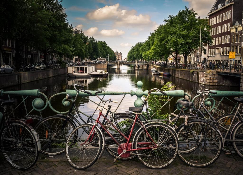 Die Stadt in der ich studieren werde - Amsterdam!