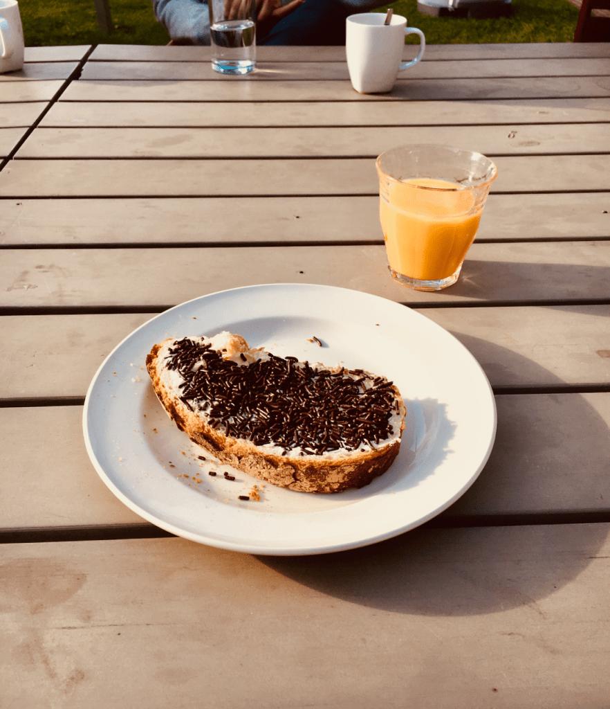 Hagelslaag Frühstück