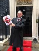Jon Cruddas presents prison petition @ Downing Street
