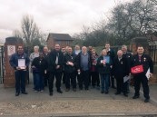 Out campaigning in Whalebone GE2015