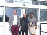Chadwell Heath: Cllr Sam Tarry, Cllr Jeff Wade, Cllr Sade Bright