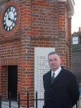Jon Cruddas MP @ the Rainham War Memorial